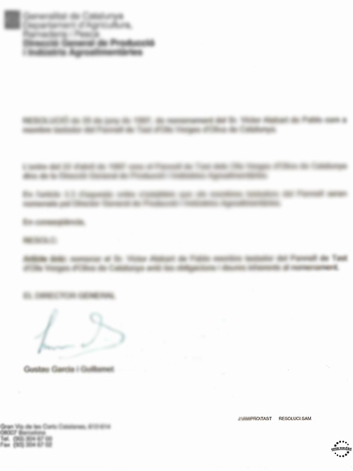 维多利亚资质:品油师认证证书